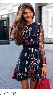dress,navy mesh long sleeves  floral l,navy mesh long sleeve floral,blue floral dress,blue white and rd floral mini dress,blue red white floral mini dress,dress navy red flowers lace,flowers,flower skirt,balck,red bag,floral,floral dress,tulle dress,embroidered dress,embroidered,perfectdress,spring,clothes,searching,wedding dress,thisdress,navy,summer dress,midi dress