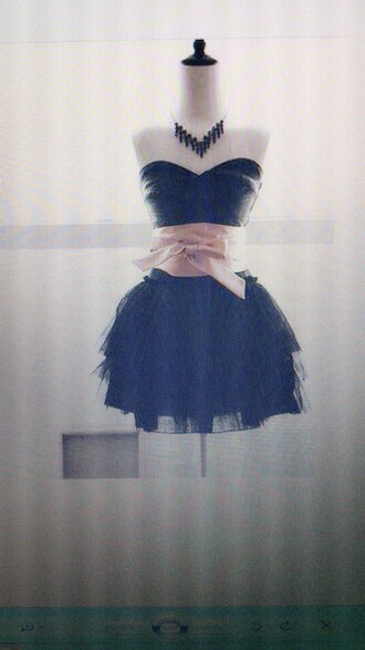 dress black pink rose belt beautiful dresses evening dress dresses evening