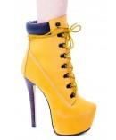 ZIgiNY Z-JO Platform Boots | Dolls Kill