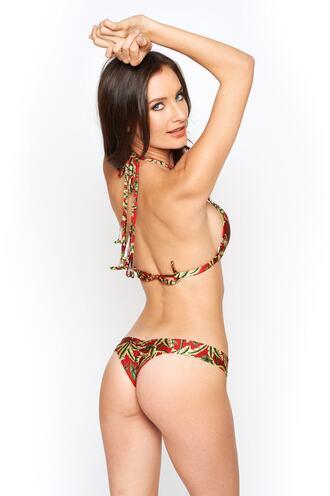 swimwear bikini bottoms bikini delivery brazilian bikini full coverage green montce swimwear print purple red ruched bikini bikiniluxe