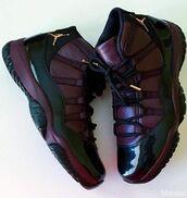 shoes,jordans,air jordan 11,burgundy,jordan 11s,sneakers,trainers,basketball,retro,air jordan,nike