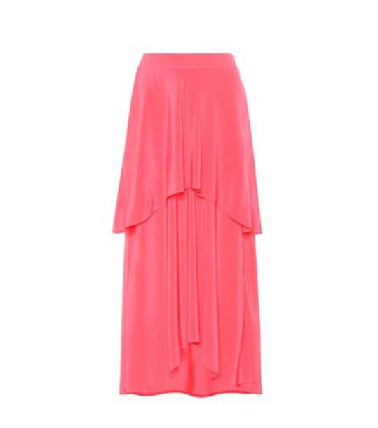 SIES MARJAN skirt silk pink