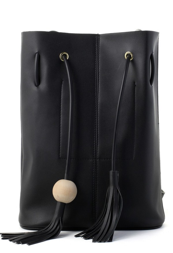bag chicwish chic bucket bag bucket bag tassel