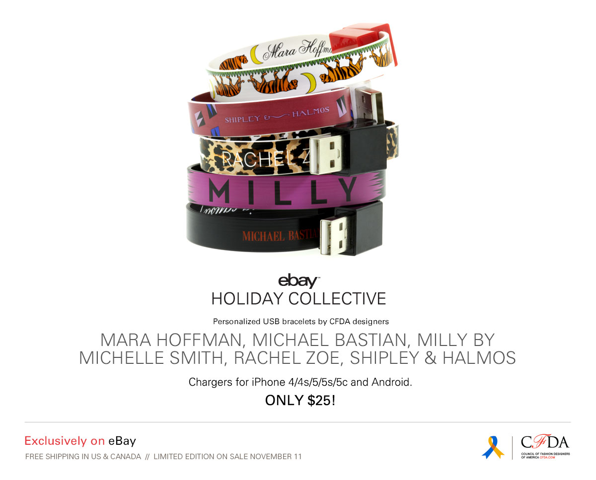 Cfda Milly by Michelle Smith USB Bracelet | eBay