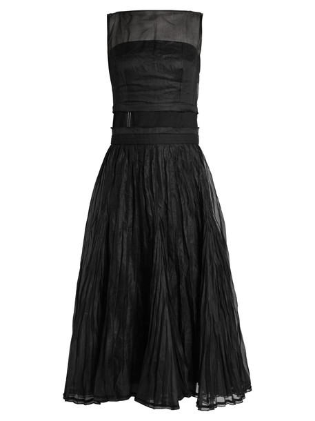 LOEWE dress sleeveless dress sleeveless black