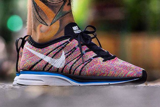 shoes nike flyknit trainer running running shoes