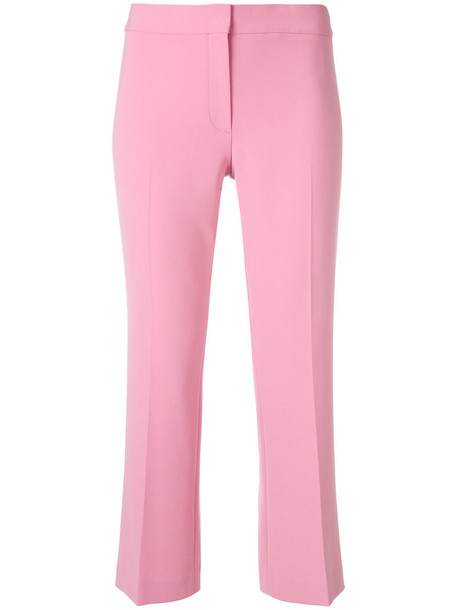 theory women fit purple pink pants