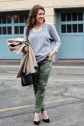 sequins & stripes,coat,sweater,shoes,bag,jewels