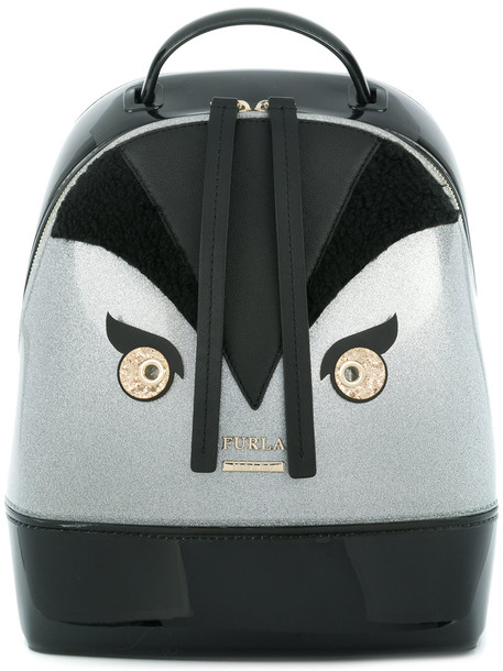 Furla women candy backpack black bag