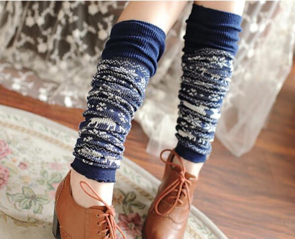 socks autumn socks boot socks leg warmers