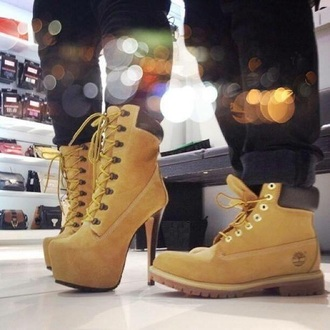 shoes timberland timberlands heels heels platform shoes stilettos women shoes men shoes shopping lace black boots winter boots menswear couple brown brown platform yellow shoes men boots women boots ankle boots stiletto boots classy lace up boots