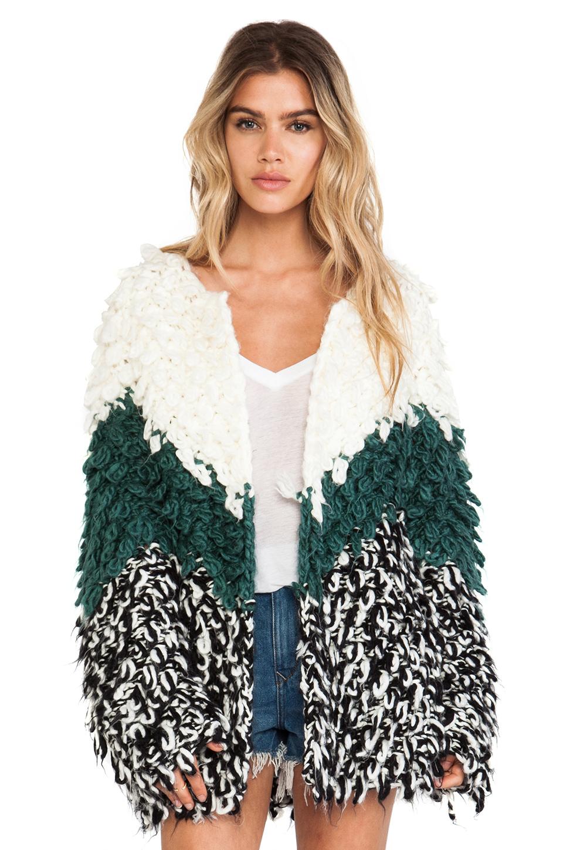 Tularosa dylan knit coat in variation from revolveclothing.com