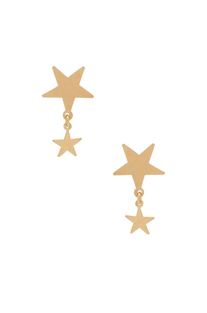 Amarilo earrings metallic gold jewels
