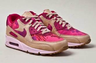 shoes pink floral nike liberty x air max nike air max 90