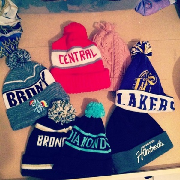 hat beanie diamonds