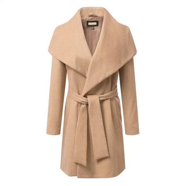 The flap clap coat