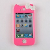 phone cover,iphone 4 case,hello kitty,iphone case,iphone,lovely,cats