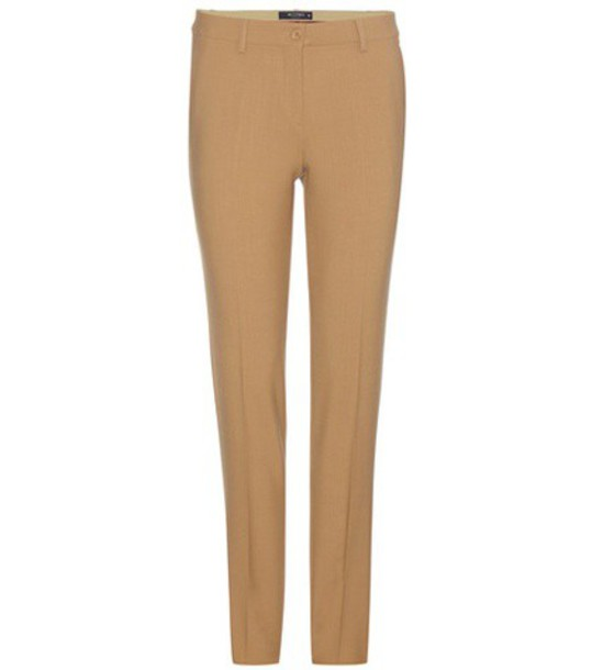ETRO wool beige pants