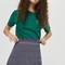 Tall spotted ruffle mini skirt - navy blue