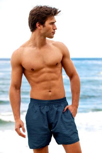 shorts mens mens sauvage blue beach shorts bikiniluxe