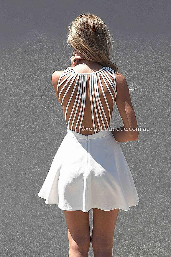 IN THE MOMENT DRESS , DRESSES, TOPS, BOTTOMS, JACKETS & JUMPERS, ACCESSORIES, 50% OFF , PRE ORDER, NEW ARRIVALS, PLAYSUIT, COLOUR, GIFT VOUCHER,,White,CUT OUT,SLEEVELESS,MINI Australia, Queensland, Brisbane