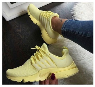 shoes newshoes nike yellow