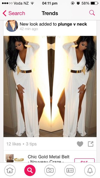 dress white long sleeve dress white long sleeve dress backlesss white maxi dress long dress
