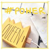 phone cover,yeah bunny,power,queen,cute,3d,powerbank