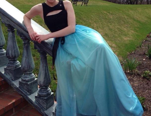 dress prom prom dress homecoming homecoming dress blue black blue dress black dress tulle dress