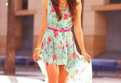 dress,flowers,pink,blue,floral,summer,summer dress,floral dress,colorful,pretty,nice dress,clothes,sexy,cte,skirt,vintage,asymmetrical,pastel,turquise,ocean,belt,pink belt,necklace,high low,high-low dresses,bright,color/pattern,green,cute,girly,green dress,pink flowers,beautiful,red,design,brunette,short,short dress,spring dress,spring,blue and pink,light blue,maxi dress,maxi,long,legs,casual,short front long back,aqua dress,cute dress,blue dress,light blue dress,belted dress,floral prints,flower patterend dress,flower pattern,indigo,flower dress #colourful,lovely,sundress,summer outfits,short blue floral dress,fashion,hi low dresses,heels,high low dress
