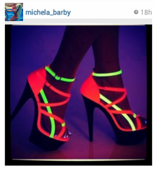 neon neon shoes wowowowow wowo shoes#scarpe#wow#spettacolo??