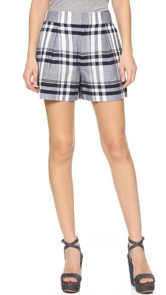 shorts navy white