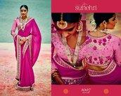 dress,zari saree,priyanka chopra lycra saree style gown - heroine fashionista,traditional sarees,paithani saree
