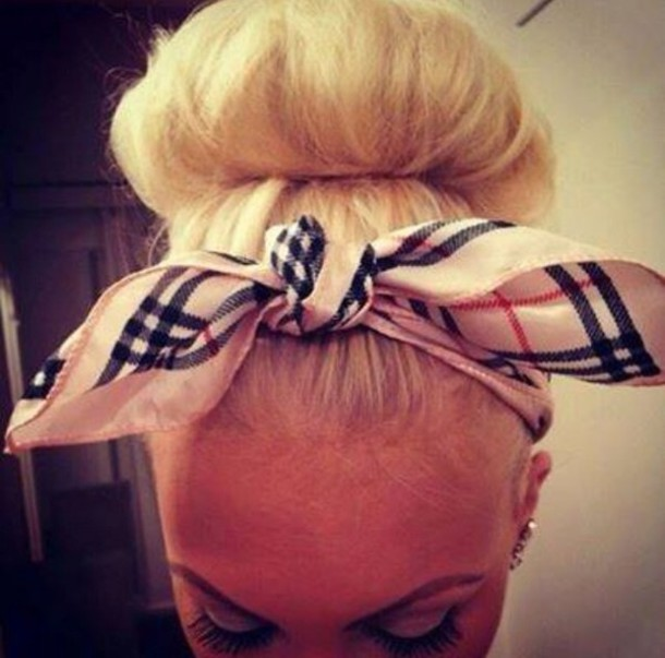 hat hair accessory bandana print bandana