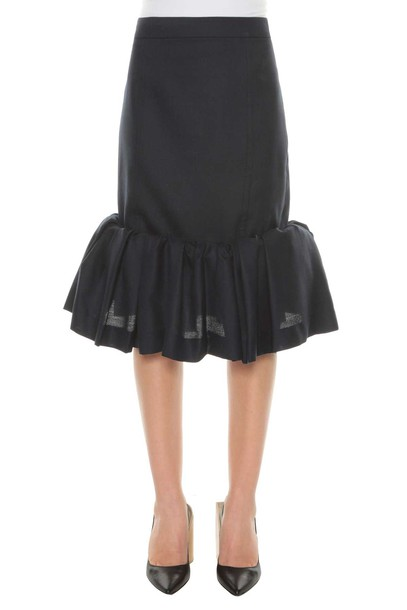 Jacquemus skirt navy blue