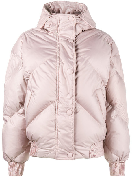 Ienki Ienki jacket puffer jacket women cotton purple pink