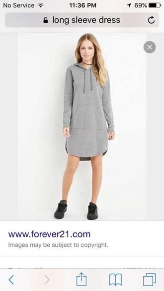 dress grey long sleeve