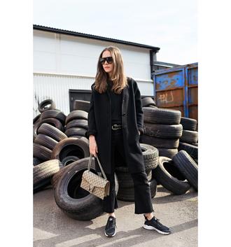 carolines mode blogger shoes bag jeans coat