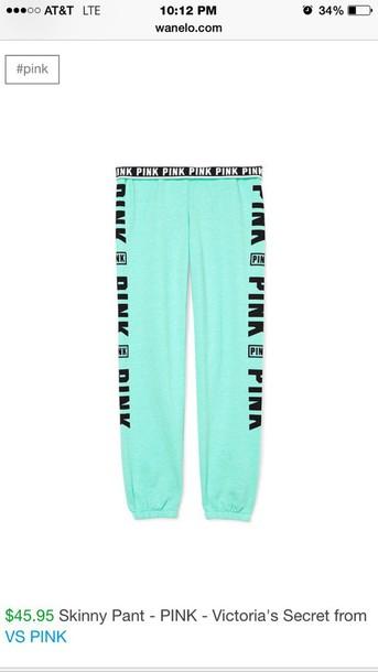 pants pink vs victoria's secret vs aqua pink by victorias secret mint is the color