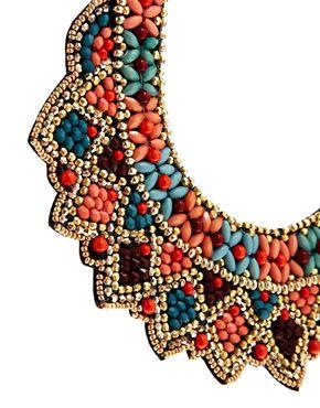 ASOS | ASOS – Celebration – Halskette mit Latzdesign bei ASOS