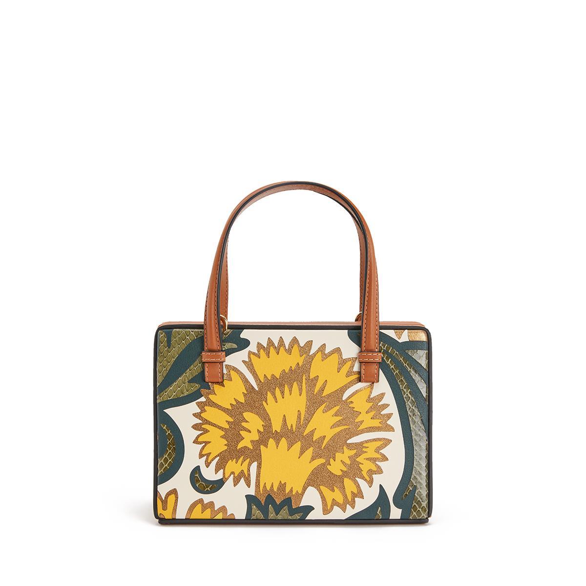 Postal Floral Small Bag