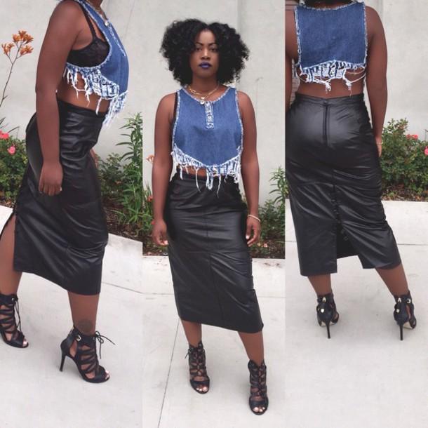 18d9056d4398d2 tank top denim shirt crop tops custom crop tops handmade vintage dress  reworked summer top july