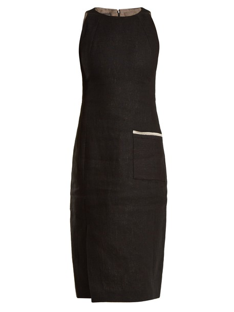 CARL KAPP dress sleeveless black