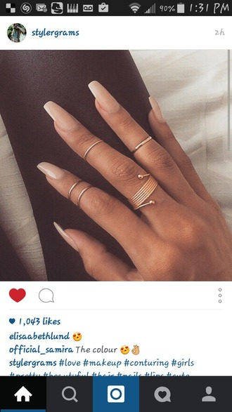 jewels gold ring gold ring jewelry knuckle ring rings and tings