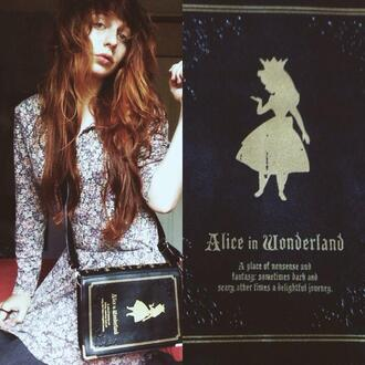 bag wow tumblr tumblr girl nadia esra alice in wonderland fashion magic