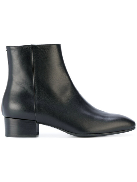 Aeyde women boots ankle boots leather black shoes