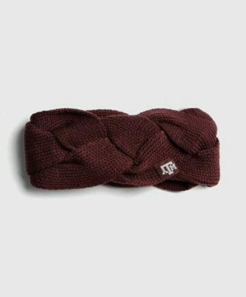 hat red boho braid bohemian