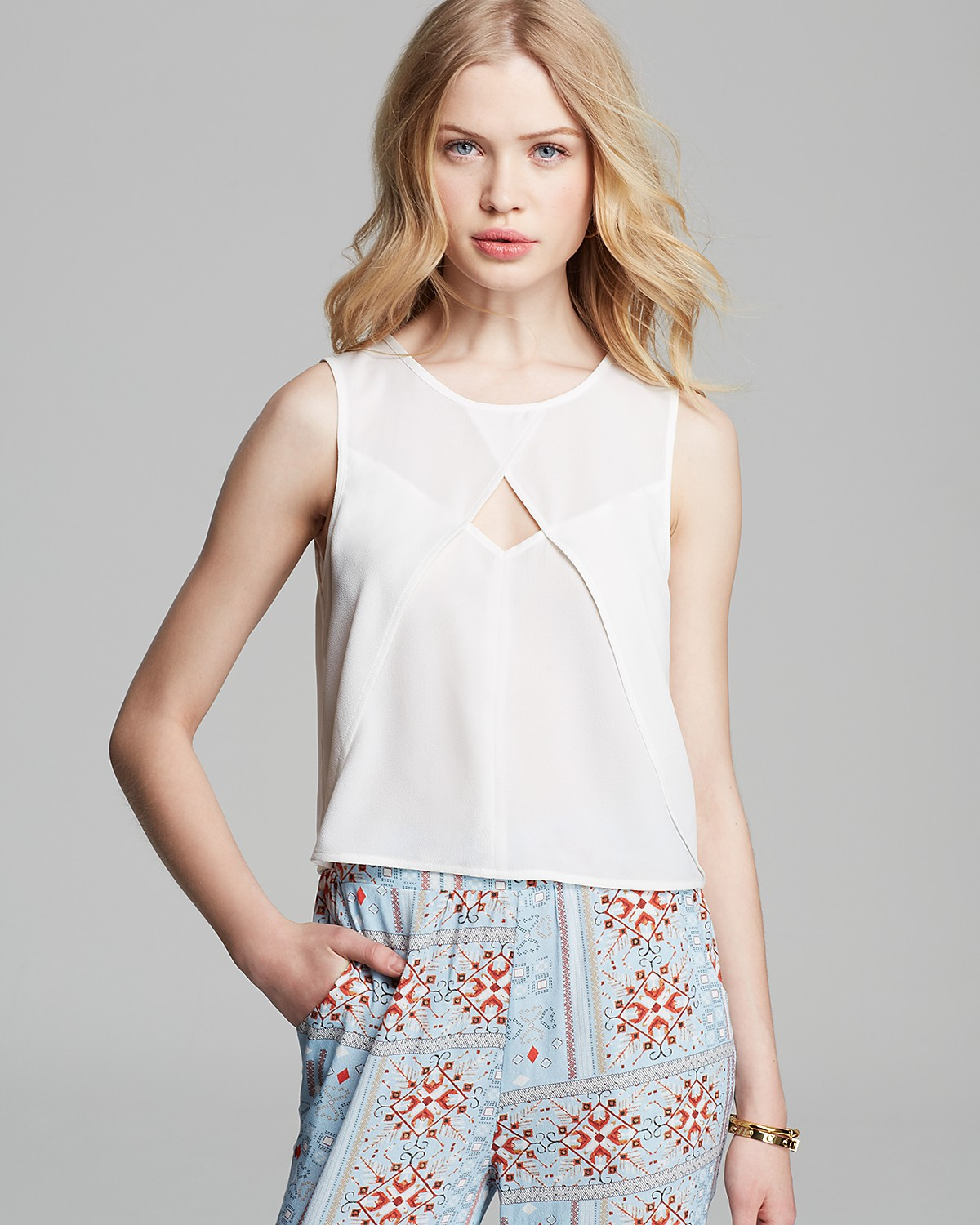 MINKPINK Top - Ray of Light | Bloomingdale's