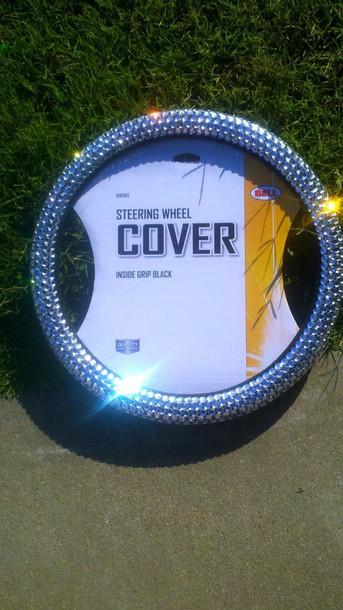 Jewels Steering Wheel Cover Bling Sparkle Newcrystalwave Newcrystalwavebling Home Accessory