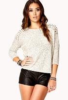Studded Dolman Sweater | FOREVER21 - 2076379330